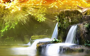 Waterfall_Sunshine